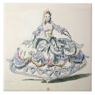 Opera Costume, from the Menus Plaisirs Collection, Tile