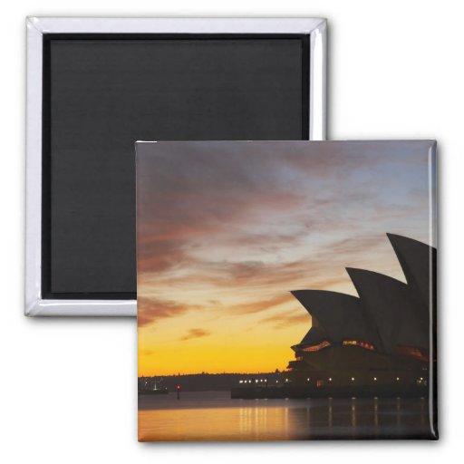 Ópera de Australia, Nuevo Gales del Sur, Sydney, S Imán De Frigorifico