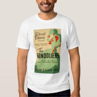 Ópera de los gondoleros WPA 1937 Camisas