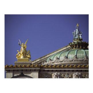 Ópera de París Garnier en París, Francia Postal