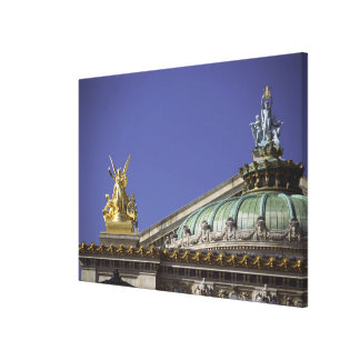 Opera de Paris Garnier in Paris, France Canvas Print