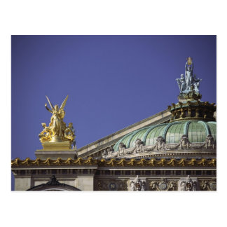 Opera de Paris Garnier in Paris, France Postcard