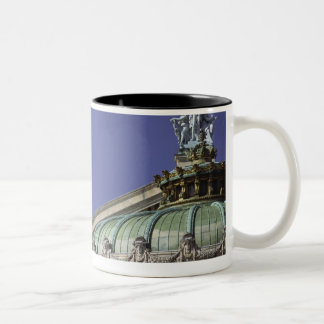 Opera de Paris Garnier in Paris, France Two-Tone Coffee Mug