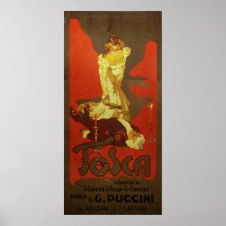 Ópera de Tosca Impresiones