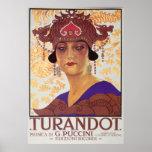 Ópera de Turandot Póster