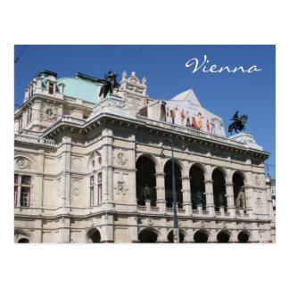 ópera de Viena Postal
