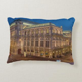 Ópera del estado de Viena Cojín Decorativo