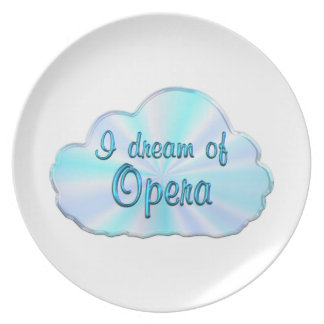 Opera Dreamer Party Plate