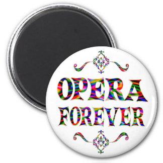 Opera Forever Fridge Magnet
