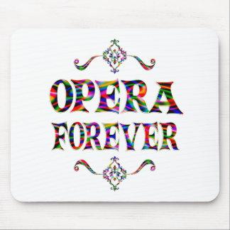 Opera Forever Mousepads