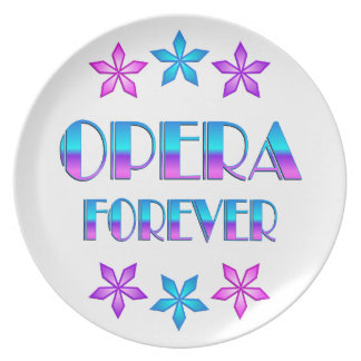 Opera Forever Party Plates