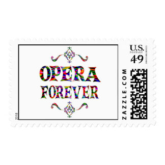 Opera Forever Postage Stamp