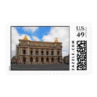 Opera Garnier Postage Stamp