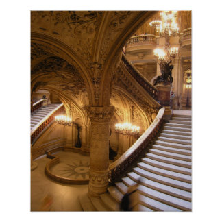 Opera Garnier Poster