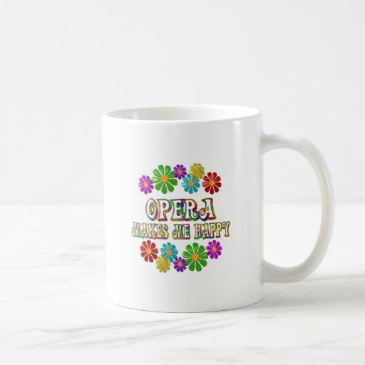 Opera Happy Coffee Mug