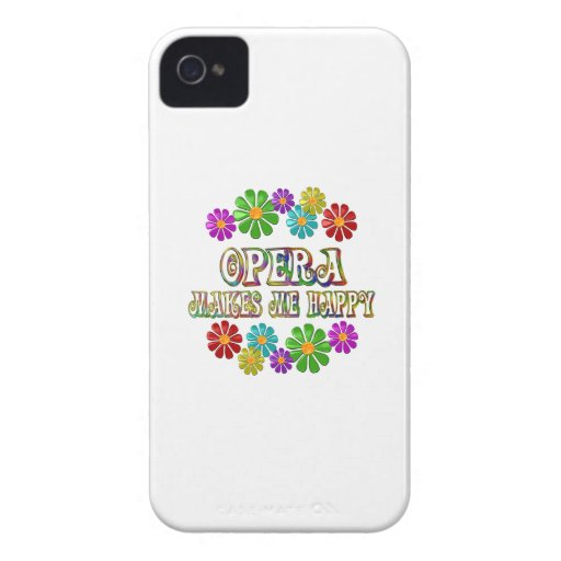 Opera Happy iPhone 4 Cover