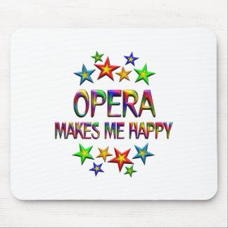Opera Happy Mouse Pad