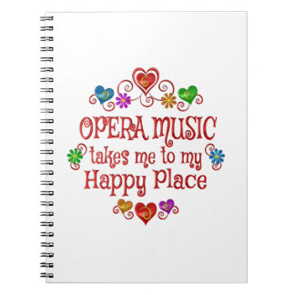 Opera Happy Place Notebook