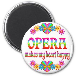 Opera Heart Happy Fridge Magnets