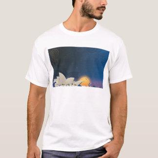 Opera house at sunset T-Shirt