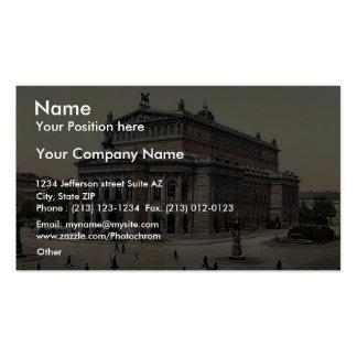 Opera House, Frankfort on Main (i.e. Frankfurt am Business Cards