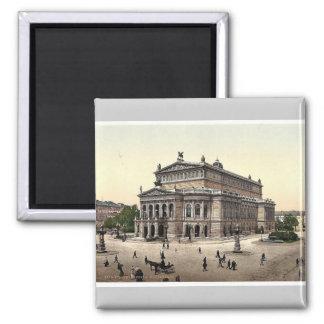 Opera House, Frankfort on Main (i.e. Frankfurt am Fridge Magnet