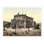 Opera House, Frankfort on Main (i.e. Frankfurt am Post Cards