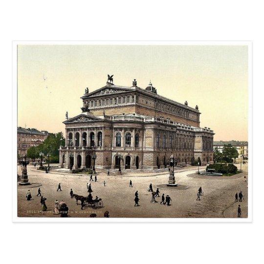 Opera House, Frankfort on Main (i.e. Frankfurt am Postcard