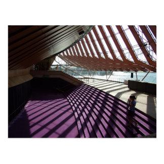 Opera house interior postcard