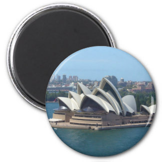 opera house sails 2 inch round magnet