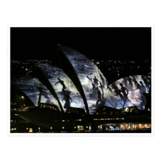 opera house surf postcard