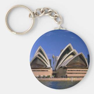 Opera House, Sydney, New South Wales, Australia Keychains