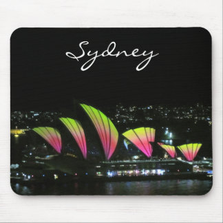 opera house vivid mouse pad
