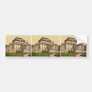 Opera house, Wiesbaden, Hesse-Nassau, Germany magn Bumper Stickers