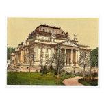 Opera house, Wiesbaden, Hesse-Nassau, Germany magn Post Card