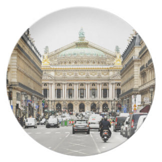 Opera in Paris, France Plates