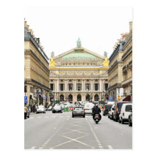 Opera in Paris, France Postcard