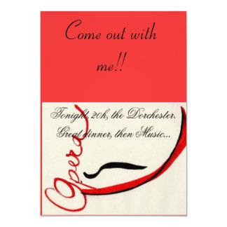 Opera invitation