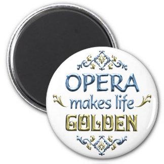 OPERA is Golden Fridge Magnets