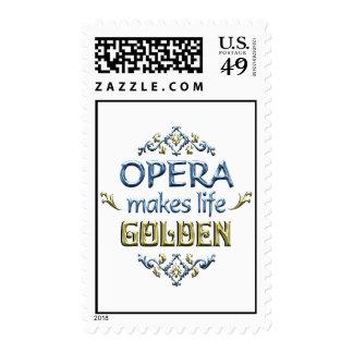 OPERA is Golden Postage