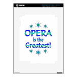 Opera is the Greatest Decal For iPad 3