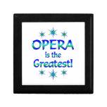 Opera is the Greatest Keepsake Box