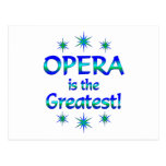 Opera is the Greatest Postcards