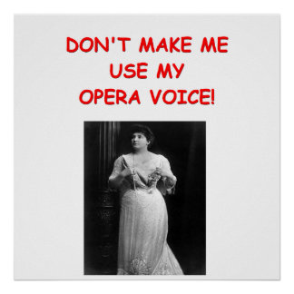 opera joke poster