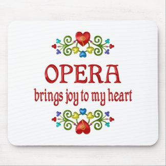 Opera Joy Mouse Pad
