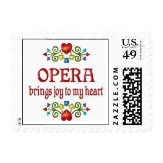 Opera Joy Stamp
