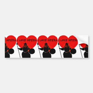 Opera Lover_ Bumper Sticker