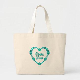 Opera Lover Large Tote Bag