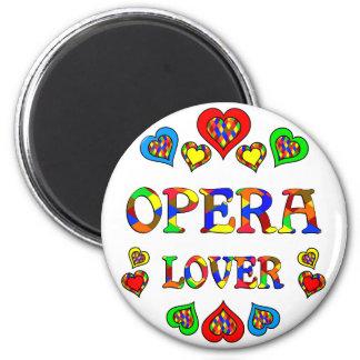 Opera Lover Refrigerator Magnets