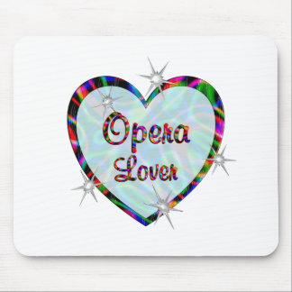 Opera Lover Mouse Pad
